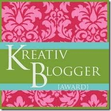english kreativ blogger award