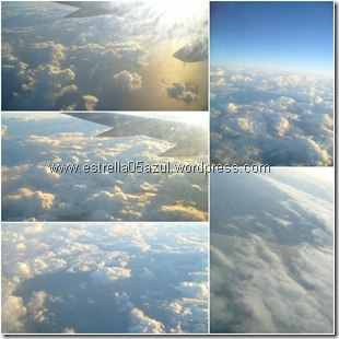 page cloudscapes from above