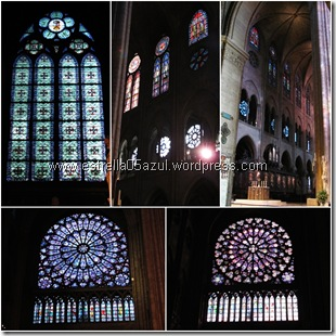 page notre dame rose windows