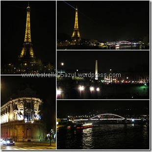 page paris at night