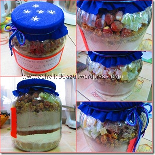 page cookies gift in a jar