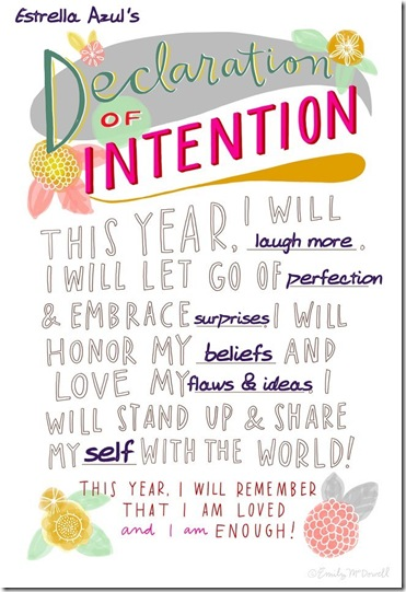 estrellas intention 2013